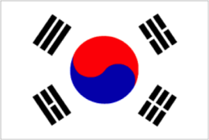 Koreaanse vlag