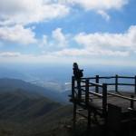 Uitzicht vanaf een bergtop