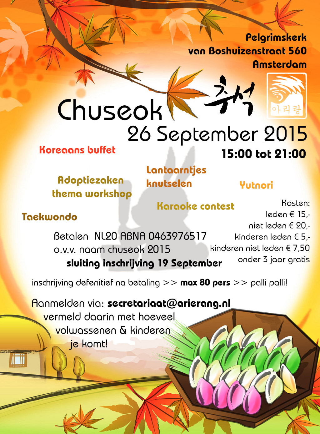 Flyer Chuseok 2015