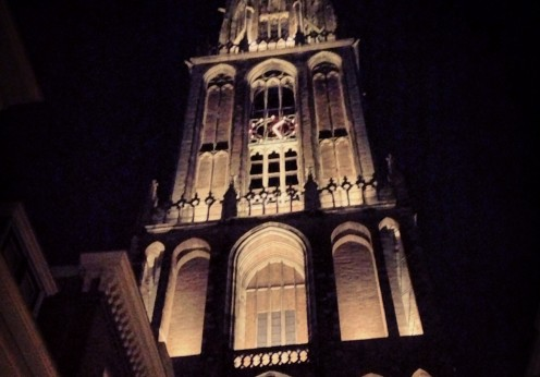 Dom Utrecht by Night
