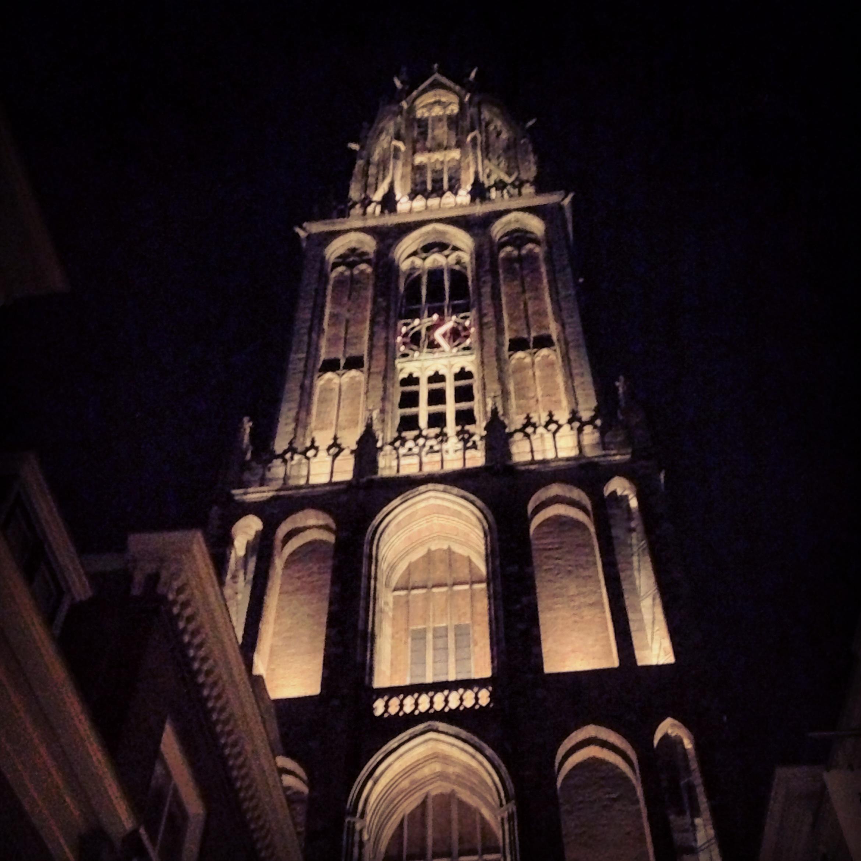 Dom Utrecht by Night