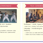 IIIHR Description Taekwondo & Tea Ceremony Class