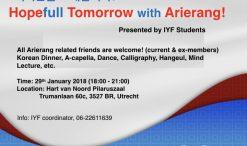 Arierang avond IYF