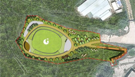 Ommapoom park layout
