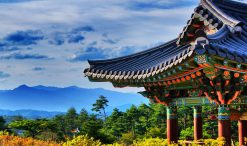 South Korean coloured roof