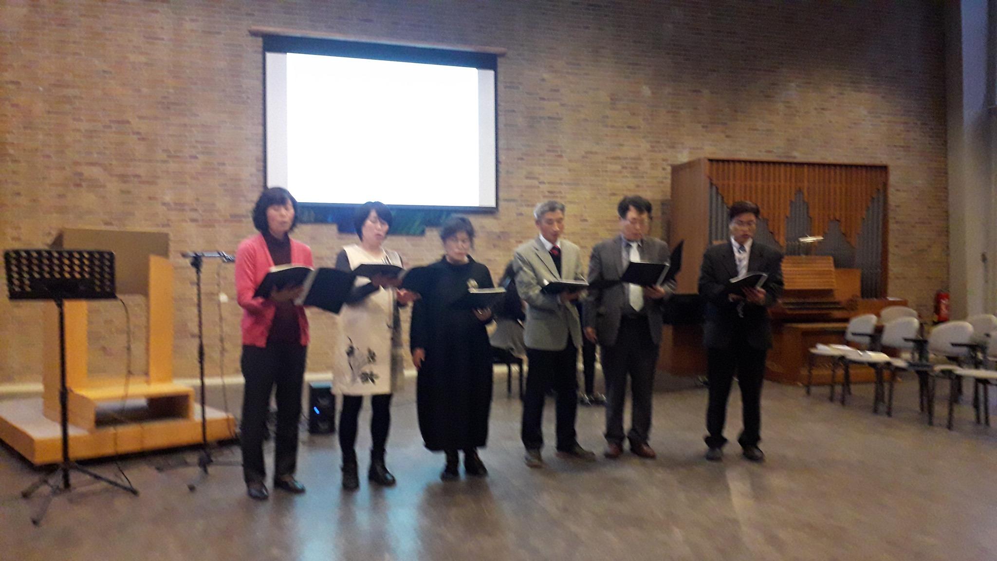 koreaanse kerkdienst 2019